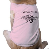 Queen Bee Pet Clothing from Zazzle.com