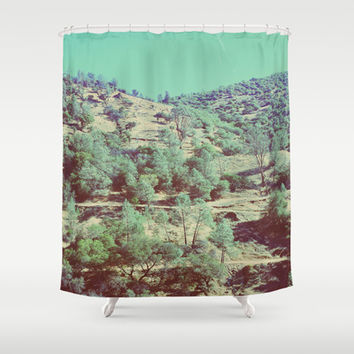The Hills Shower Curtain by DuckyB (Brandi)