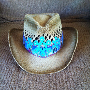 "Disney's ""Frozen"" Themed Cowgirl Hat Child Size"