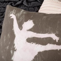 Ballet Dancer Pillow