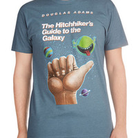 Out of Print Nifty Nerd Short Sleeves Novel Tee in Arthur - Menb