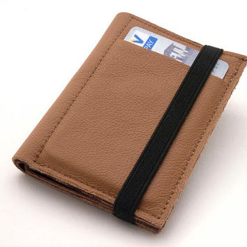 BROWN, Leather Handmade Men's Wallets