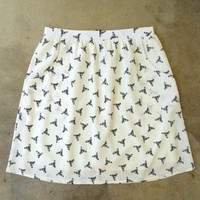 Feminine Punk Safety Pin Skirt : Vintage Inspired Clothing & Affordable Summer Dresses, deloom | Modern. Vintage. Crafted.