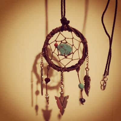 Twilight Inspired Dream Catcher Necklace