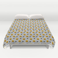 DAISY CHAINS Duvet Cover by Catspaws | Society6