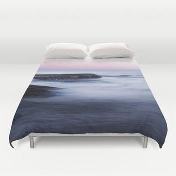 Misty Sea Duvet Cover by Nicklas Gustafsson