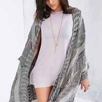 Ecote Prism Light Poncho Sweater - Urban Outfitters