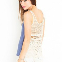 Memphis Crochet Tank | NASTY GAL | Jeffrey Campbell shoes, Cheap Monday, MinkPink, BB Dakota, UNIF + more!