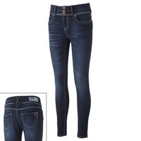 Hydraulic High-Waisted Skinny Jeans - Juniors