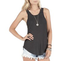 Volcom Lived In Rib Racer Tank - Women's