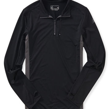 Long Sleeve Active Mock-Neck Shirt
