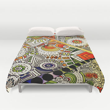 All Seeing Duvet Cover by DuckyB (Brandi)