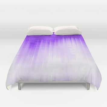 Purple Duvet Cover by Ornaart