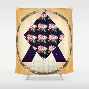 Timeless Infinity Shower Curtain by DuckyB (Brandi)