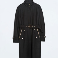 ZIP POCKET COAT