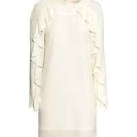 H&M Ruffled Crêpe Dress $49.95