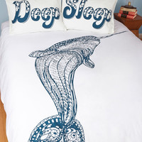 ModCloth Nautical All Whale and Good Duvet Cover in Full, Queen