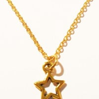 Goldtone Star Necklace from Kool Jewels | Made By Kool Jewels | £9.00 | BOUF