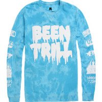 Been Trill Identity Crew Fleece - Mens Hoodie - Purple -