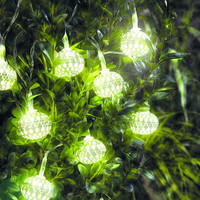 Filigree Solar LED String Fairy Lights