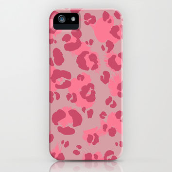 Leopard Print #3 iPhone & iPod Case by Ornaart