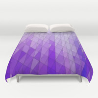 Ode to Purple Duvet Cover by DuckyB (Brandi)