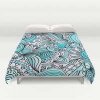Crystal Duvet Cover by DuckyB (Brandi)