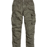 Lined Cargo Pants - from H&M