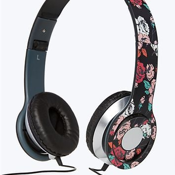 Rose Slim Stereo Headphones