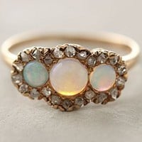 diamonds and opal.