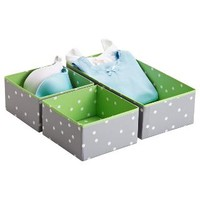 The Container Store > Green Pippi Drawer Organizers