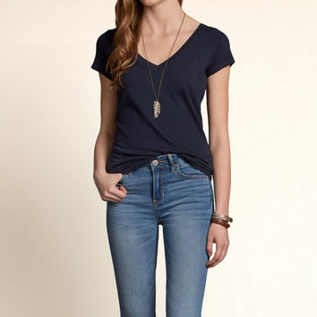 Bay Street Slim V Neck T-Shirt