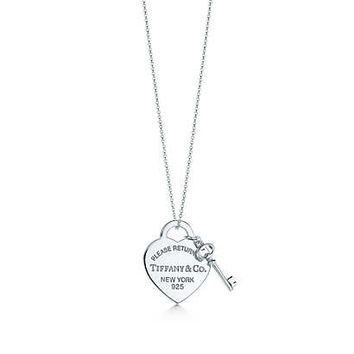 Tiffany & Co. - Return to Tiffany®:Heart Tag with<br>Key Pendant