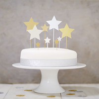Star Cake Topper Set
