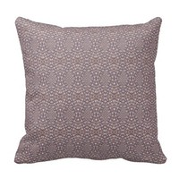 Pave Diamonds Rainbow Purple Throw Pillow