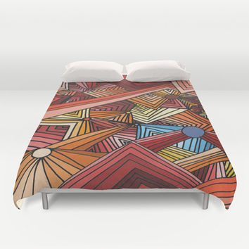 Distracted Duvet Cover by DuckyB (Brandi)