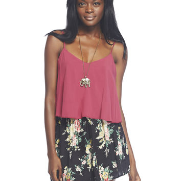 Strappy Swing Cami | Wet Seal