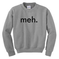 Meh Youth Crewneck Sweatshirt
