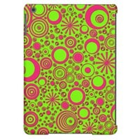 Rounds, Pink-Green iPad Air Case