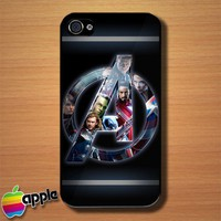 The Avengers A Logo Custom iPhone 4 or 4S Case Cover | Merchanstore - Accessories on ArtFire