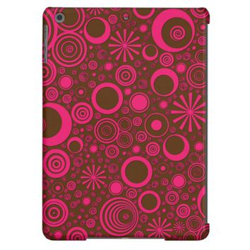 Rounds, Pink-Brown iPad Air Case
