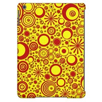 Rounds, Red-Yellow iPad Air Case
