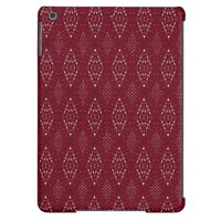 Pave Diamonds Rubies iPad Air Case