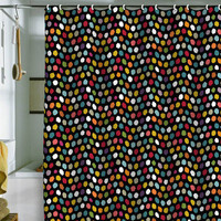 DENY Designs Home Accessories | Sharon Turner Pom Pom Spot Shower Curtain
