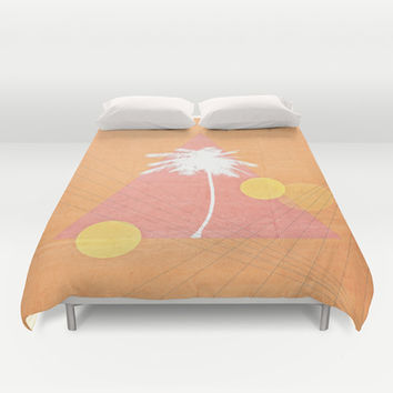 Sunset Blvd. Duvet Cover by DuckyB (Brandi)