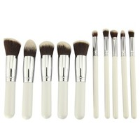 Bestope 8 Pcs Premium Makeup Brush Set Cosmetics Foundation Blending Blush Eyeliner Face Powder Brush Makeup Brush Kit