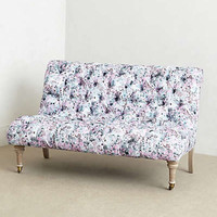 Abstract Print Orianna Settee by Anthropologie Multi One Size Wall Decor