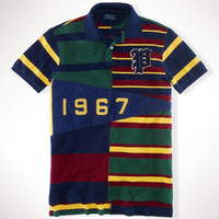 Custom-Fit Pennant Polo Shirt