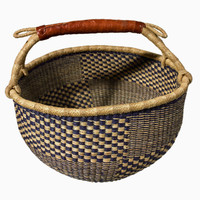Blue Anansi Bolga Basket | Shop | Project Bly