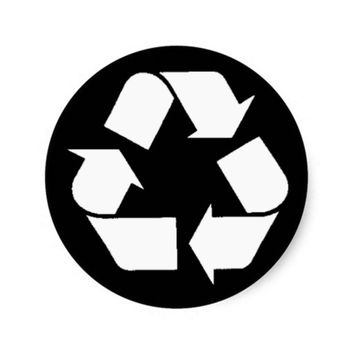 EcoFlair Sticker - Recycle.